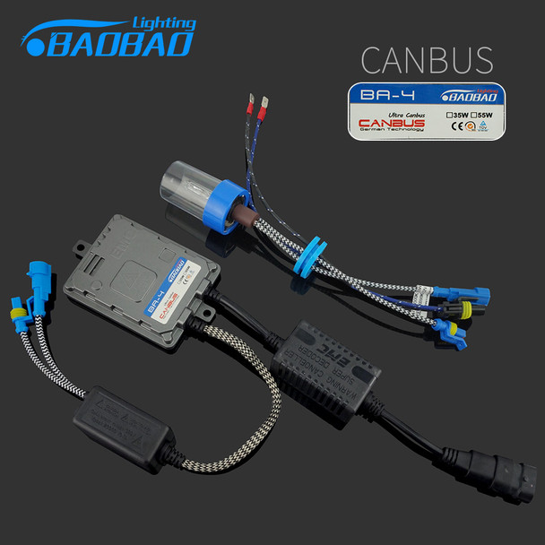 BAOBAO Top quality 35W/55W Ultra CANBUS/Fast bright Car HID headlight kit full digital car styling xenon Ballast freeshipping