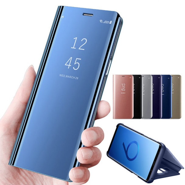 Smart Phone Case For Samsung Galaxy S9 S9 Plus S8 Note 8 S7 Edge J4 J8 J6 A5 A6 A7 A8 2018 Cover Mirror View Flip Leather Case