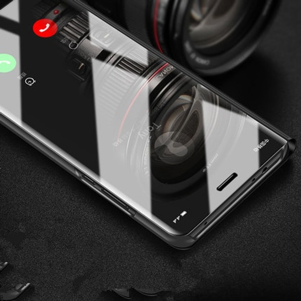SHUOHU Fashion Mirror Flip Phone Cases for iPhone 7 6 6s Plus Case Luxury Clear View Window Cover for iPhone X 8 Plus Case