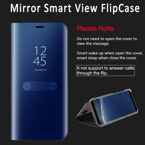 Flip View Mirror Clear Smart Stand Case For Samsung Galaxy A6 A8 2018 Plus J3 J5 J7 A3 A5 A7 2017 2016 S8 S9 Plus S7 Edge Cases