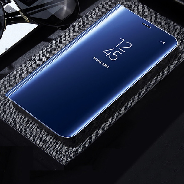Mirror Clear View Smart Phone Cases For iphone 8 7 6 6s Plus X Cover Slim PU Leather Flip Case For Samsung Galaxy Note 8 Shell