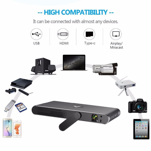 APPOTRONICS A1 Laser Projector Portable 3D Full HD 1080P Android 1280*800 Bluetooth 700 ANSI Lumens WIFI 300 inch