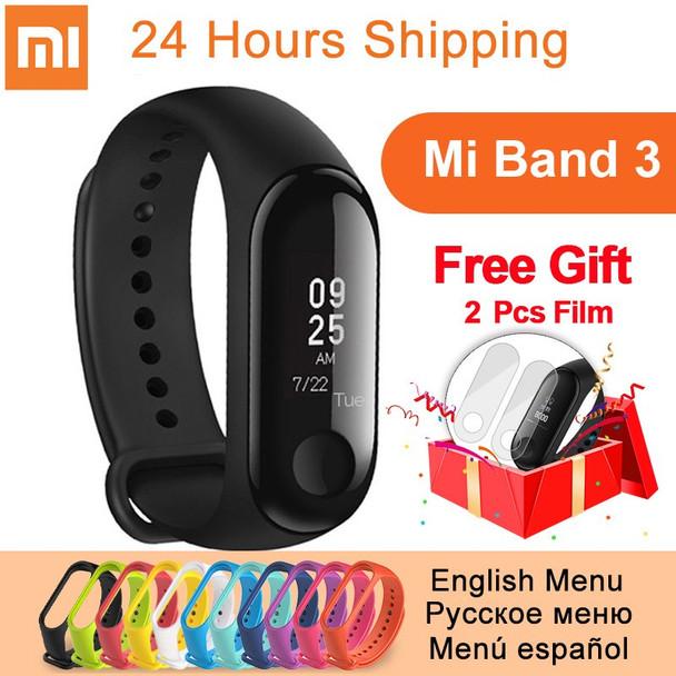 Original Xiaomi Mi Band 3 miband 3 Fitness Tracker Heart Rate Monitor 0.78 inch OLED Smart Wristband Bracelet