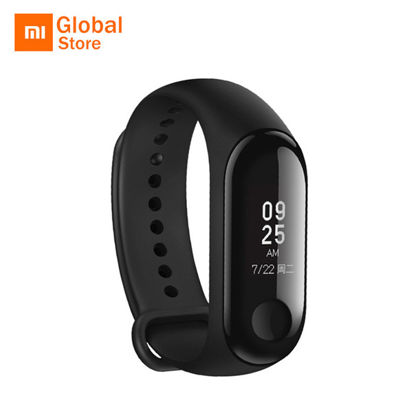Original Xiaomi Mi Band 3 Smart Wristband Fitness Bracelet MiBand Big Touch Screen OLED Message Heart Rate Time Smartband