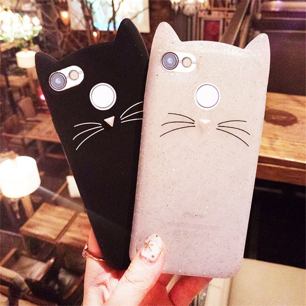 For huawei nova lite 2017 Case CAT Cartoon Soft Rubber Mobile Phone Cover Cases For Huawei Y6 Pro 2017 / P9 Lite mini 5.0 inch
