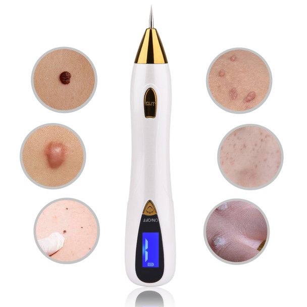 LCD Display Laser Mole Removal Tool Spot Remover Freckle Removal Pen Wart Removal Machine Skin Care Salon Home Beauty Device
