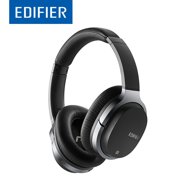 EDIFIER W860NB ANC Active Noise Cancelling Bluetooth Headphones Wireless Over-Ear Bluetooth 4.1 Touch Control Headset NFC Apt-X