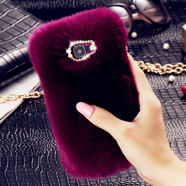 FLOVEME Luxury Fur Case for Samsung Galaxy A3 A5 A7 2016 Cover for Samsung Galaxy J2 J3 J5 J7 2016 Coque Protective Phone Bags