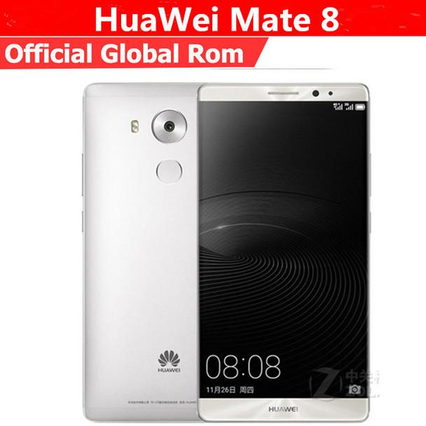 "Global Firmware HuaWei Mate 8 4G LTE Smart Phone Kirin 950 Android 6.0 6.0"" FHD 1920X1080 4GB RAM 128GB ROM 16.0MP Touch ID NFC"