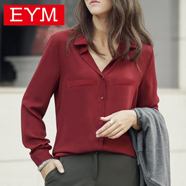 Brand Women Blouse 2018 New Casual Women's Long Sleeved Solid Shirt Plus Size Blouses Ladies Office OL Style Shirts Blusas