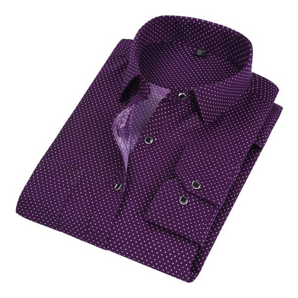 DAVYDAISY 2018 Hot Sale Men Shirt High Quality Long Sleeved Fashion Plaid Floral Printed Brand Clothing Casual Shirt Man DS050
