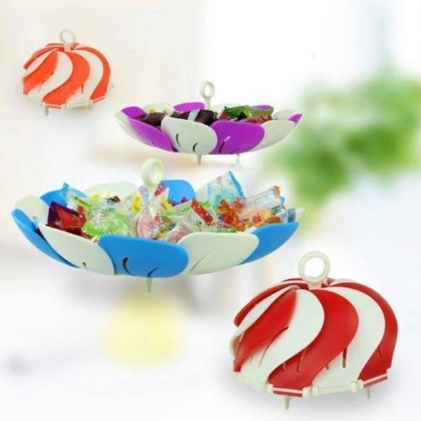 Self Adjustable Foldable Lotus Shape Fruit & Vegetable Basket