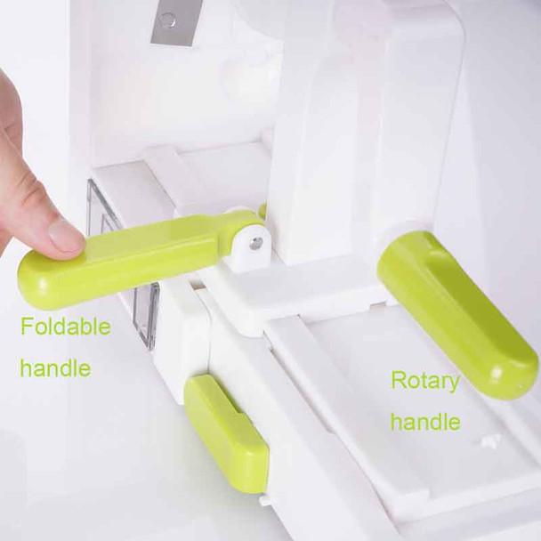 Folding 5 Blade Vegetable Spiralizer Veggie Pasta & Spaghetti Vegetable Spiral Slicer Carrot Zucchini Noodler Maker Zoodle Maker