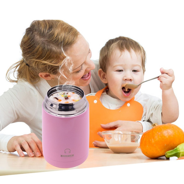 620ML Thermo For Food Jar Stainless Steel Lunchbox Soup Thermal Food Container Warmer Thermos Heated Lunch Box for Kids Children