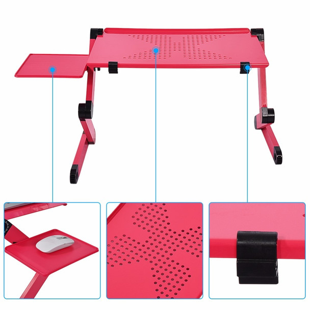 Adjustable Portable Laptop Table Stand Lap Sofa Bed Tray Computer Desk Laptop Notebook Desk Bed Table Office Home Desks