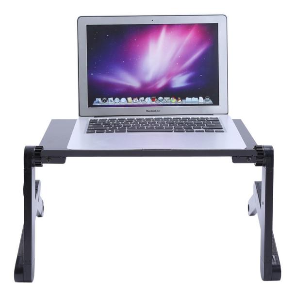 Computer Desk Portable Laptop Table Adjustable Standing Desk Computer Notebook Stand On Bed Office Mesa Notebook Desks