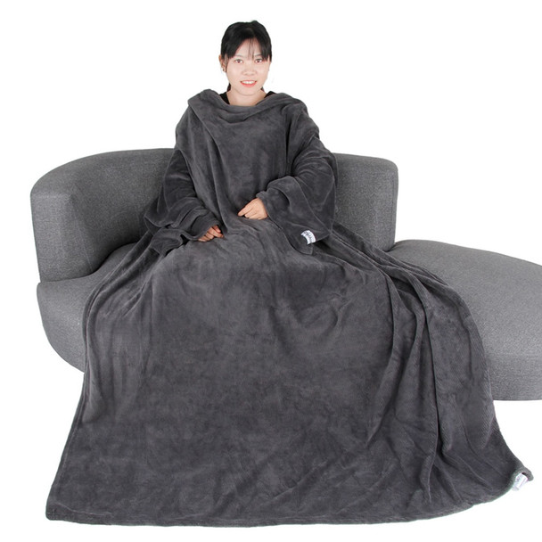 Big Super Soft Throw Blanket Long Shaggy Fuzzy Fur Warm Elegant Cozy With Fluffy Sherpa With Large Sleeves For Air Fonditioning