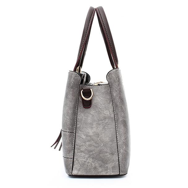 Fashion 2018 PU Leather Shoulder Bag Ladies Autumn Handbags Famous Brands Women Black Saffiano Tote Bag New Casual Women Bag