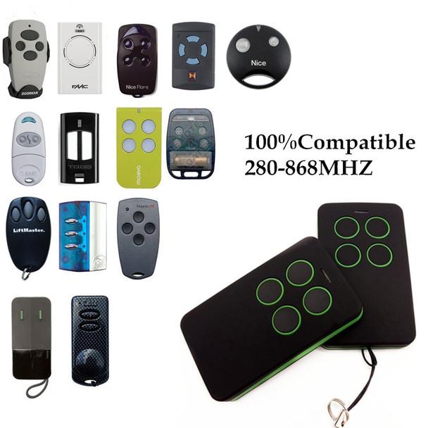 Duplicate 280mhz to 868mhz Remote Control Universal Remote Control 4 Channel Command Handzender Garage Gate Key Fob