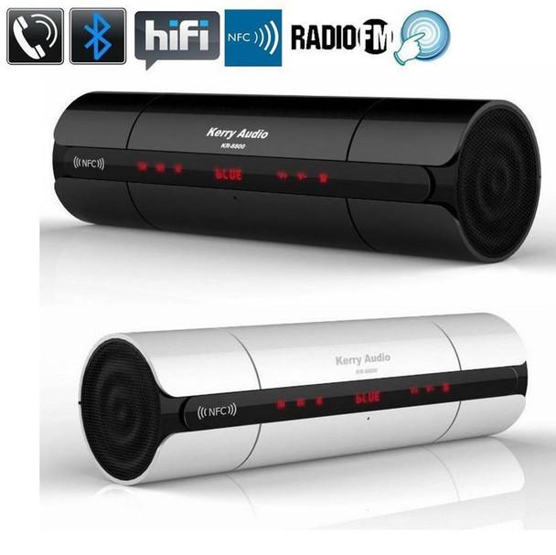 KR-8800 Touch NFC HIFI Portable mini Bluetooth Speaker Wireless Stereo  Loudspeaker Boombox Shock Bass Caixa De Som free post