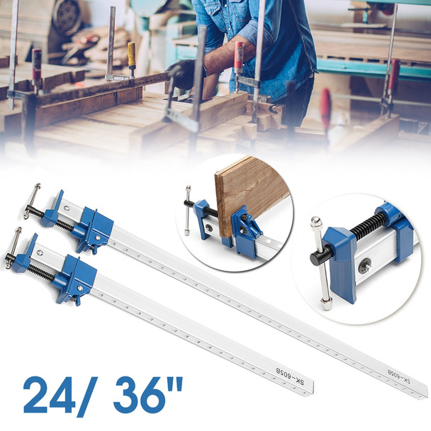 24/36 1/2/4Pcs DIY Heavy Duty F Clamp T Bar Wood Clamps for Woodworking Quick Release Wood Clamps Holder Cramp Grip Hand Tools