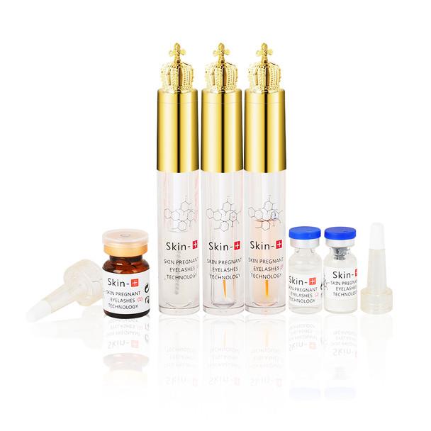 1 set Natural Eyelashes Growth Nourishing Enhancer Eye lash Serum Nutrition Eyelash Growth Treatment Kit for Eyelash Lifting