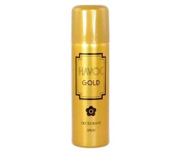 Havoc Golden Perfumed Deodorant 200ml