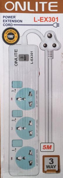 Onlite Power Extension Cord L-EX301