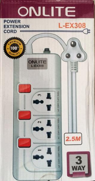 Onlite Power Extension Cord L-EX308