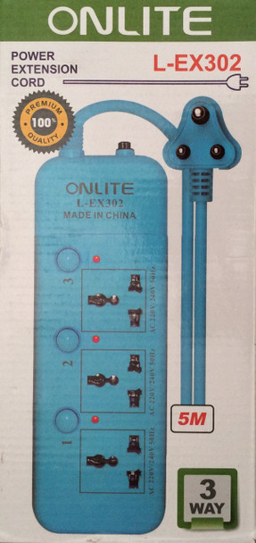 Onlite Power Extension Cord L-EX302