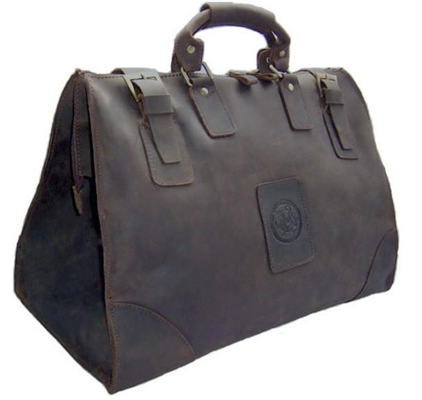dccd2c599dae Vintage Crazy Horse Genuine Leather Men Travel bag luggage Bag Leather men  duffel bag Large Weekend ...