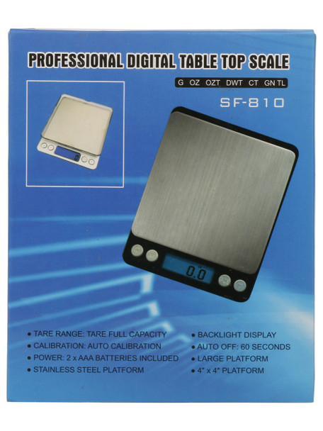 Professional Digital Table Top Scale SF-810