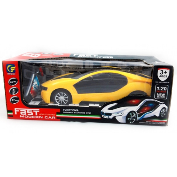 Remote Control Fast Modern Car With 3D Light -1