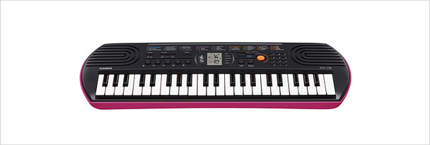 Casio Mini Keyboard with 44 Keys SA-78