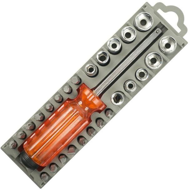 28 Pcs Multipurpose Screwdriver Tool Set - 1