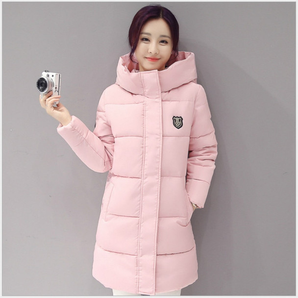 2017 New Autumn Winter Parkas Warm Ladies Coat Jaqueta Feminina Jacket Women Parkas Cotton Female Jacket Plus Sizes Overcoat