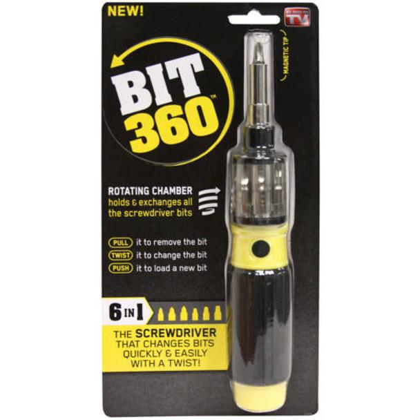 BIT 360 - 6 in 1 Screwdriver set