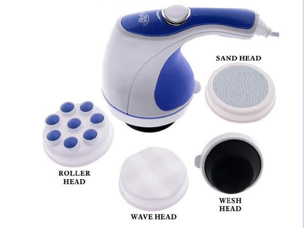 Relax & Spin Tone Slimming Toning & Relaxing Body Massager with 5 Attachments
