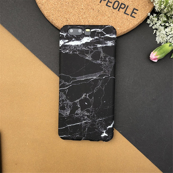 For Huawei Honor 10 Honor V10 Case Black White Granite Marble Cases For Huawei Mate10 Pro Mate10 Frosted Slim Hard Phone Case