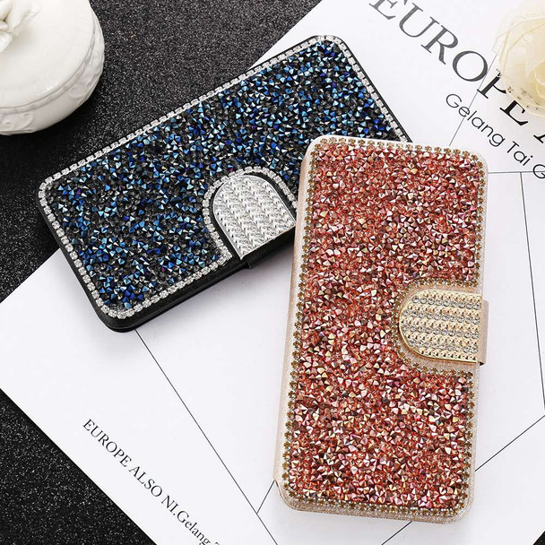 KISSCASE Glitter Leather Flip Phone Case For iPhone 6 6S 7 8 Plus 5 5S SE Bling Diamond Stand Wallet Back Cover Shells Capinhas