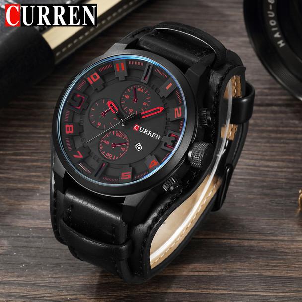 CURREN Watches Men Watch Luxury Brand Analog Men Military Watch Relogio Masculino Whatch Men Quartz Curren Male Sports Watches