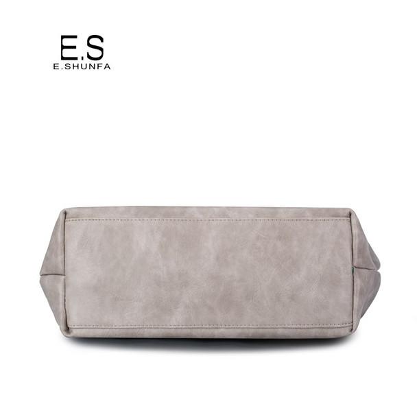 Beading Shoulder Bags Women 2018 New Fashion Casual Tote Bag Handbag Hobos High Quality PU Leather Shoulder Bag Large Capacity
