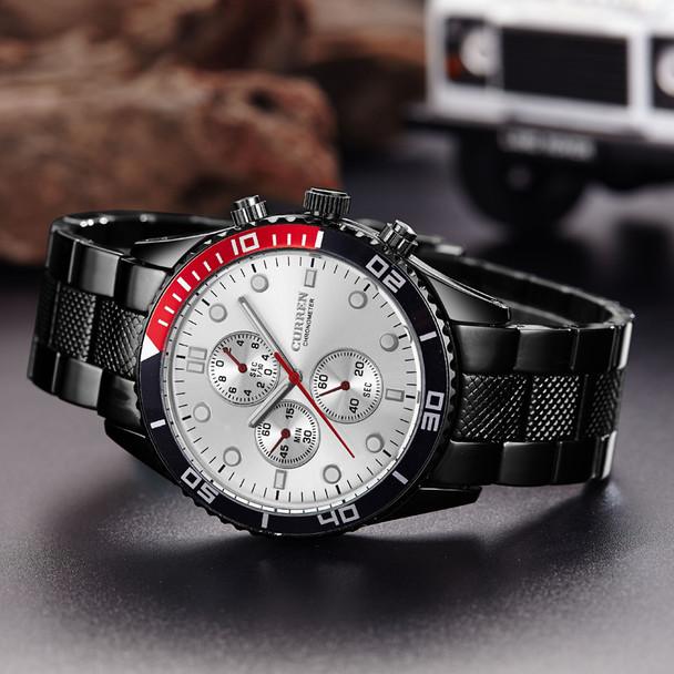 Hot Sports Brand Curren Watches Men Luxury Brand Analog Steel Case Men's Quartz Sports Watches Man Army Military Wrist Watch