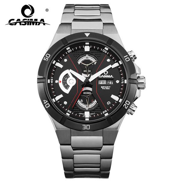 2017 Top-selling Luxury Brand watches men fashion casual multi-function sport mens quartz wrist watch waterproof 100mCASIMA#8204