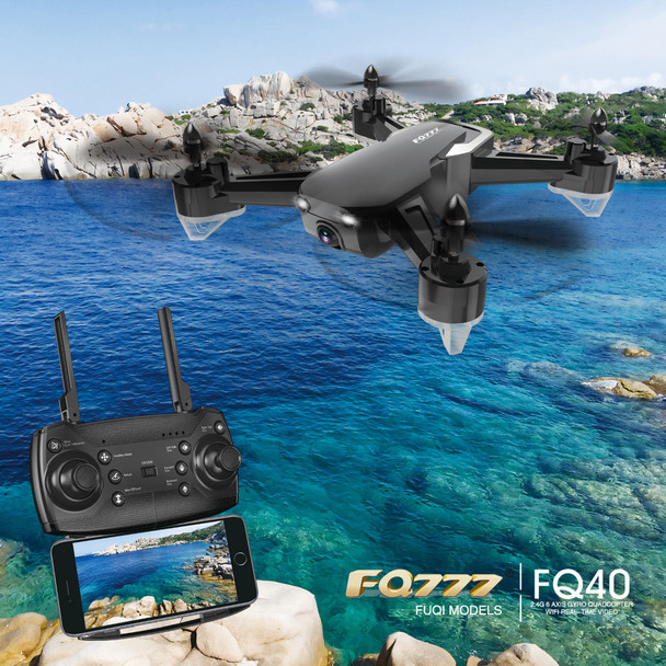 FQ777 FQ40 DRON 2.4G 720P Wide-angle FPV WIFI HD Camera Drone Hover RC Helicopter Quadcopter drones with camera hd