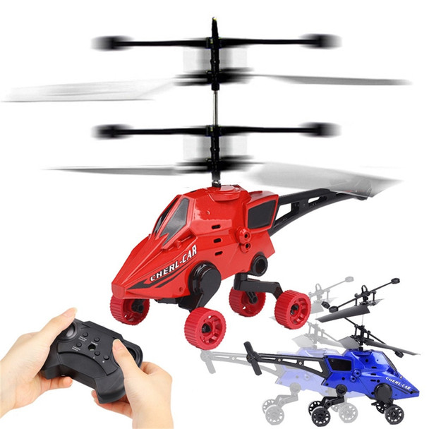 Mini Drone RC Helicopter Flying Car Remote Control Toys Air-Ground 2CH Gyro Helicopter RC Drone For Kid toys for children