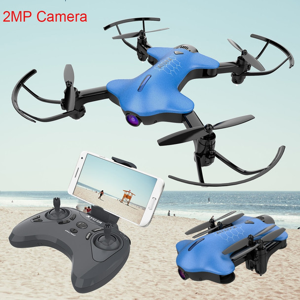 Atoyx AT-146 720P FPV Wifi Drone High Hold Mode RC Helicopter  Drones with HD 2MP Camera  Foldable Wireless Quadcopters