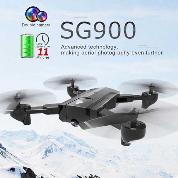 SG900 Foldable Quadcopter 2.4GHz 720P/1080P HD Drone Quadcopter WIFI FPV Drones Rc Helicopter Drone With Camera