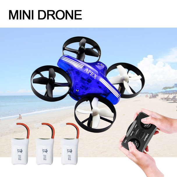 Mini Drone Dron Quadcopter Remote contral RC Drone Helicopter 2.4G 6 Axis Gyro Micro with Headless Mode Hold Altitude for adults