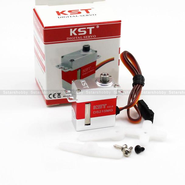 3Pcs KST DS215MG V3.0 Digital Metal Gear Swashplate Servo For 450 RC Helicopter